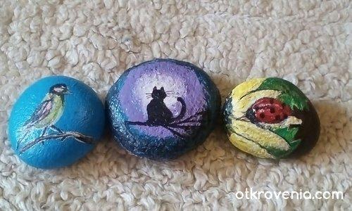 Рисувани камъчета за деца