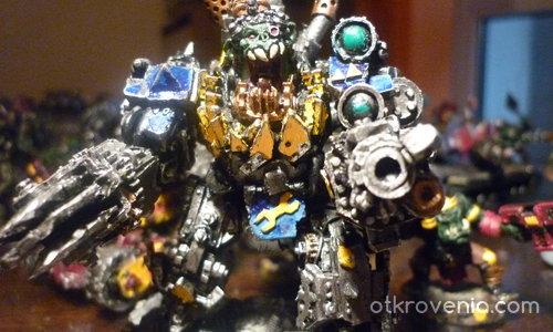 Warhammer 40k-Boss Mech