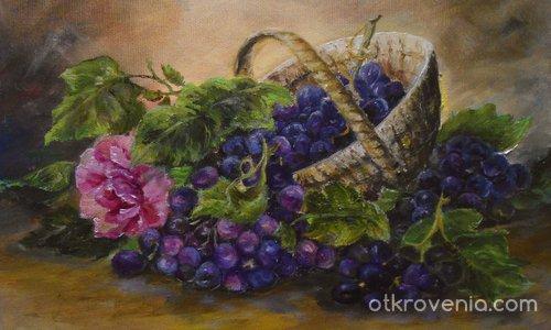 Кошница с грозде