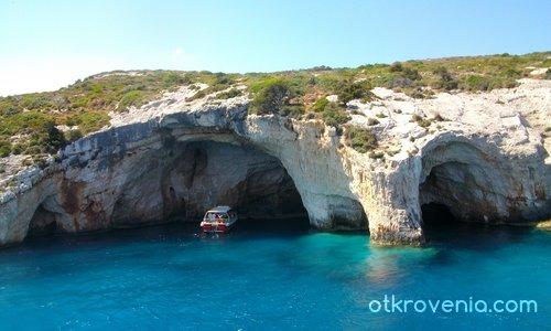 Сините пещери 2 - о. Закинтос