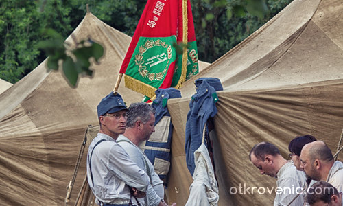 В лагера