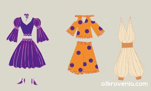 Модни скици 8