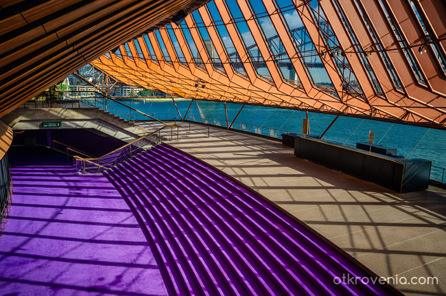 Sydney Opera House - фоайе