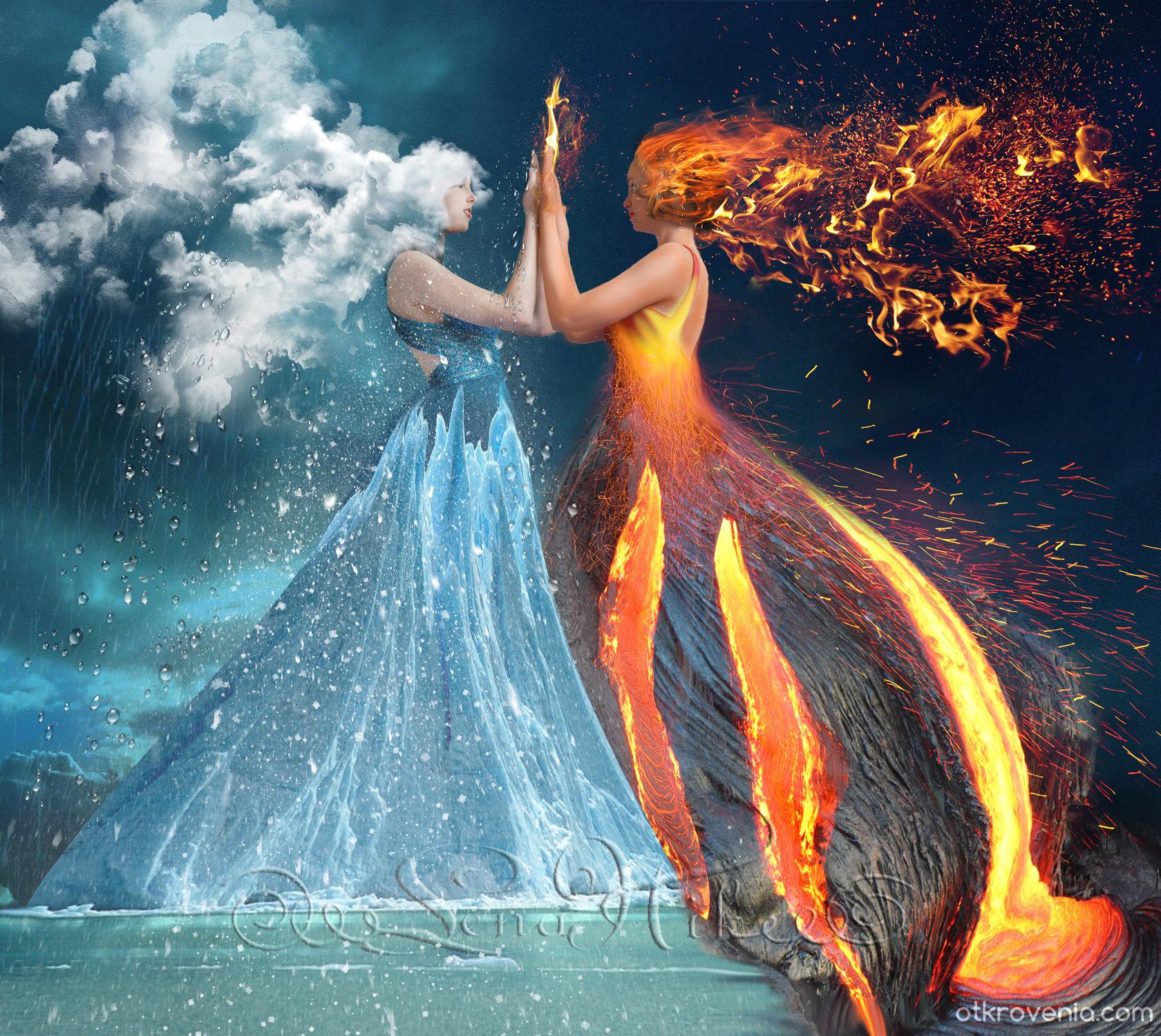 Картинки и в огонь и в воду