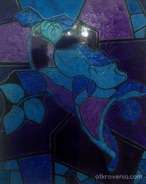 Стъклената роза