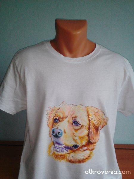 """""""Lise"""" - ръчно рисувана тениска"""