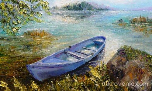 Лодка на брега