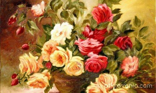 Фантазия от рози