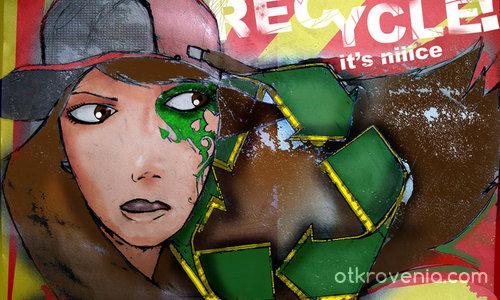 Recycle! It's nice!