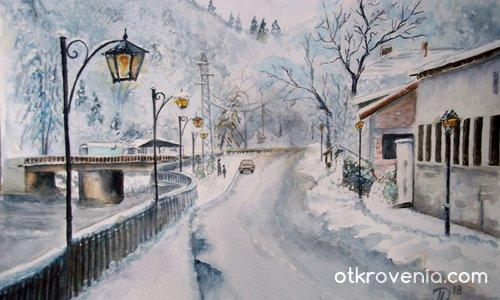 Зимен ден в Трявна