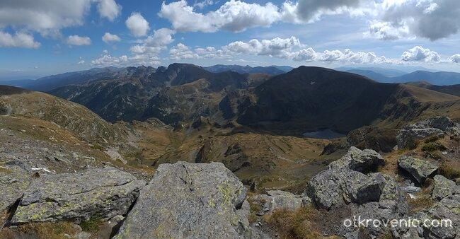 Панорама от връх Дамга