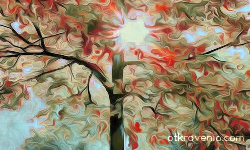 Есенно дърво