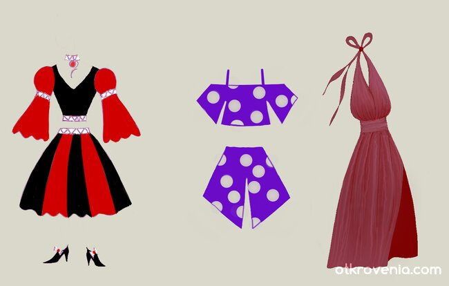 Модни скици 7