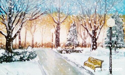 """""""Зима в парка"""""""