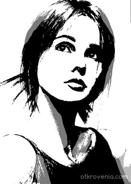 Графичен портрет 6