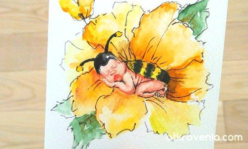 Картичка за бебе