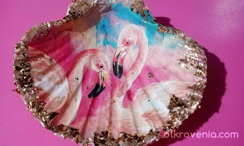 """Поставка за бижута """"Фламинго"""""""