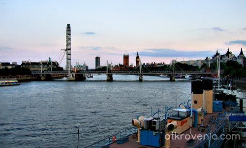 Привечер по Темза