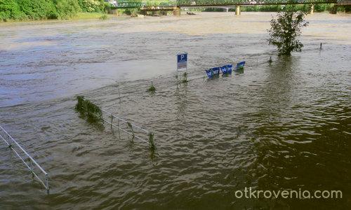 Наводнението! Паркинг...