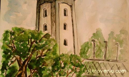 кула на църква