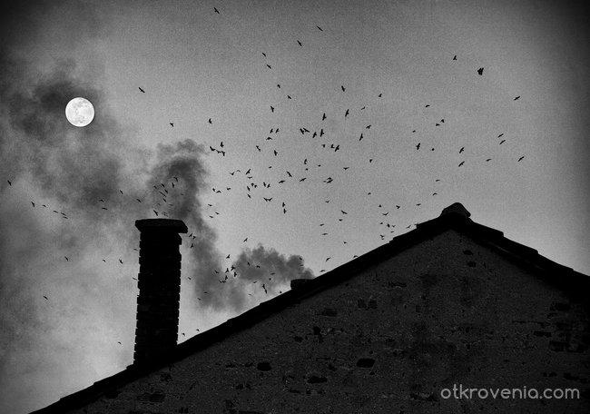 Луната тревожи