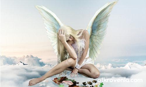 Ангел-хранител сглобява пъзела на твоя живот