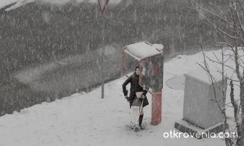 Неочакван сняг