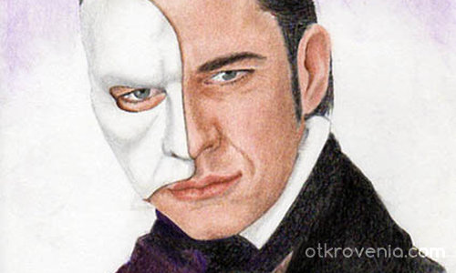 Gerard Butler alias The Phantom