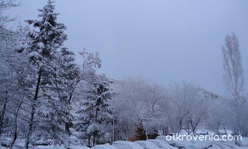 ...след танца си, снежинките спят...