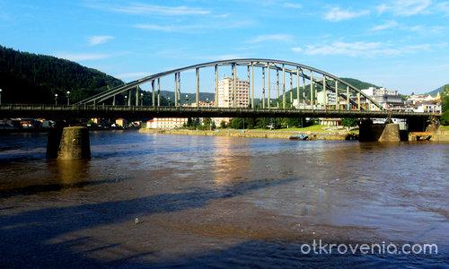 "Красотите на Дечин - Прочутият  ""Tyršův"" мост"