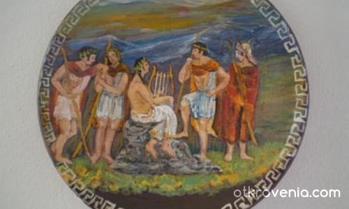 Орфей с пастири
