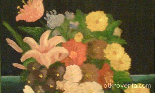 Цветя - коледния подарък за мама