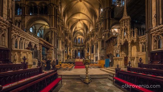 The Choir, Presbytery и Trinity Chapel