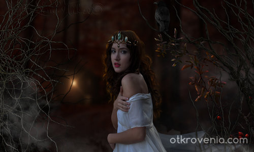 Снежанка в тъмната гора