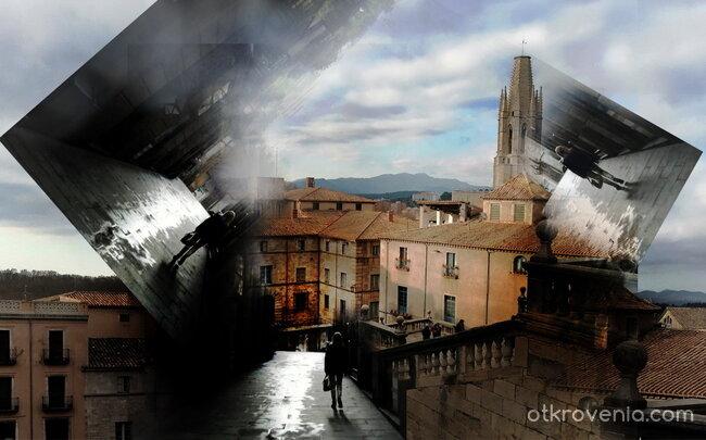 Всички малки улички водят до покривите на града