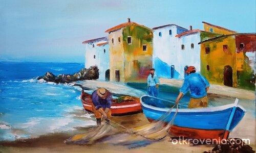 Лодки и рибари