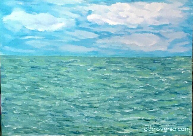 22 цвята море 🙂