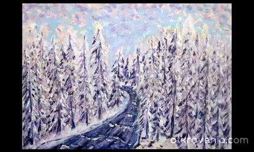 Зимната река