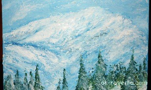 Снежна буря в планината