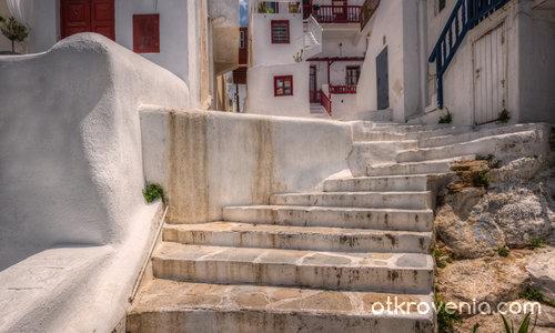 По уличките на Миконос (Mykonos)