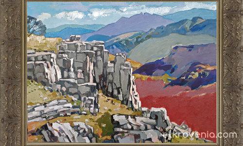 Пейзаж ог Васильовската планина – 565