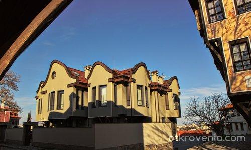 Новата архитектура в Стария град на Пловдив