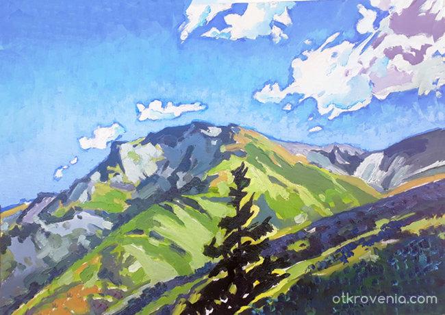 Планината 667