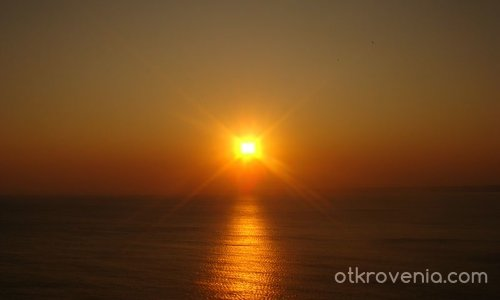 ... и слънцето се плисна по вълните