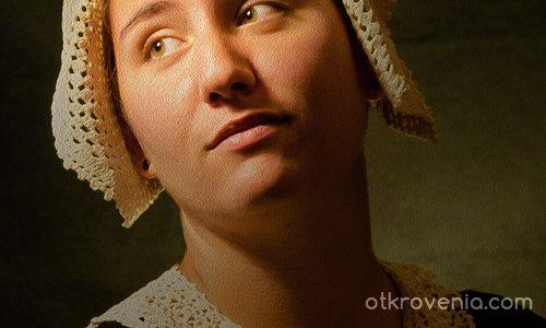 Момичето с плетената шапка
