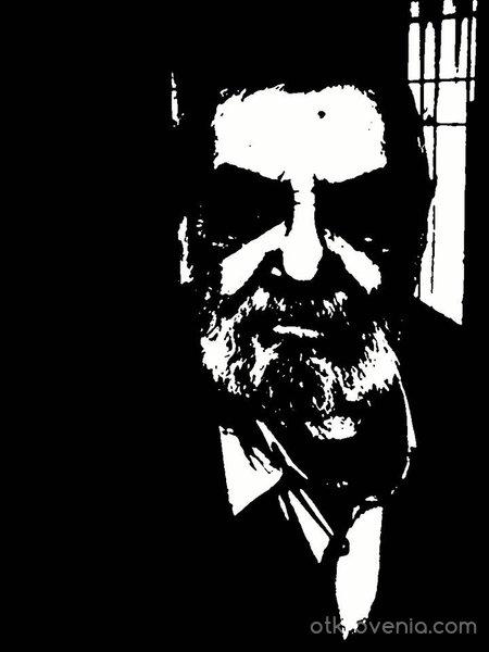 Дедо, Автопортрет