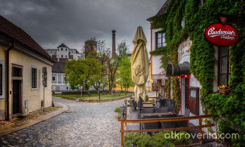 По уличките на Jindrichuv Hradec
