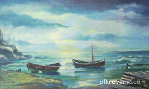 лодки в морето