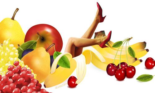 * * *(... кой не обича плодове? )