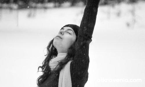 Feeling the winter